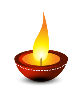 new-year-candle